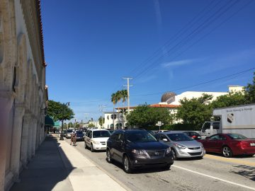Town of Palm Beach Traffic Report August 9