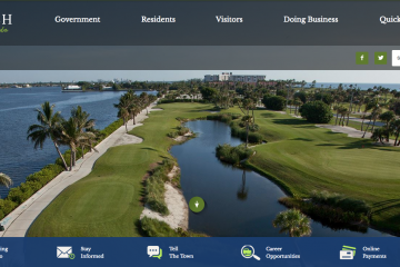 New Town of Palm Beach Website