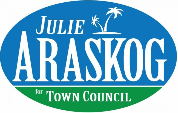Julie Araskog Wins Town of Palm Beach Town Council Election
